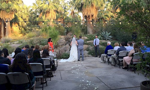 Take your vows at an altar provided by Mother Nature.