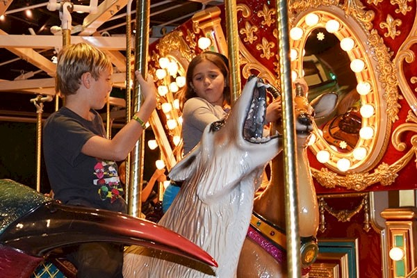 Ride the endangered species carousel at the Living Desert Zoo and Gardens. Click for more details.