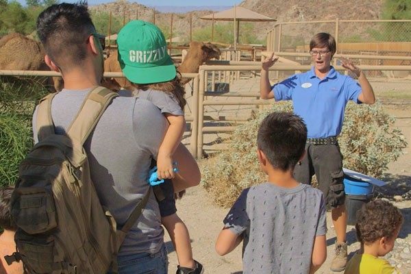Private and Behind-the Scenes Tours at The Living Desert Zoo and Gardens.