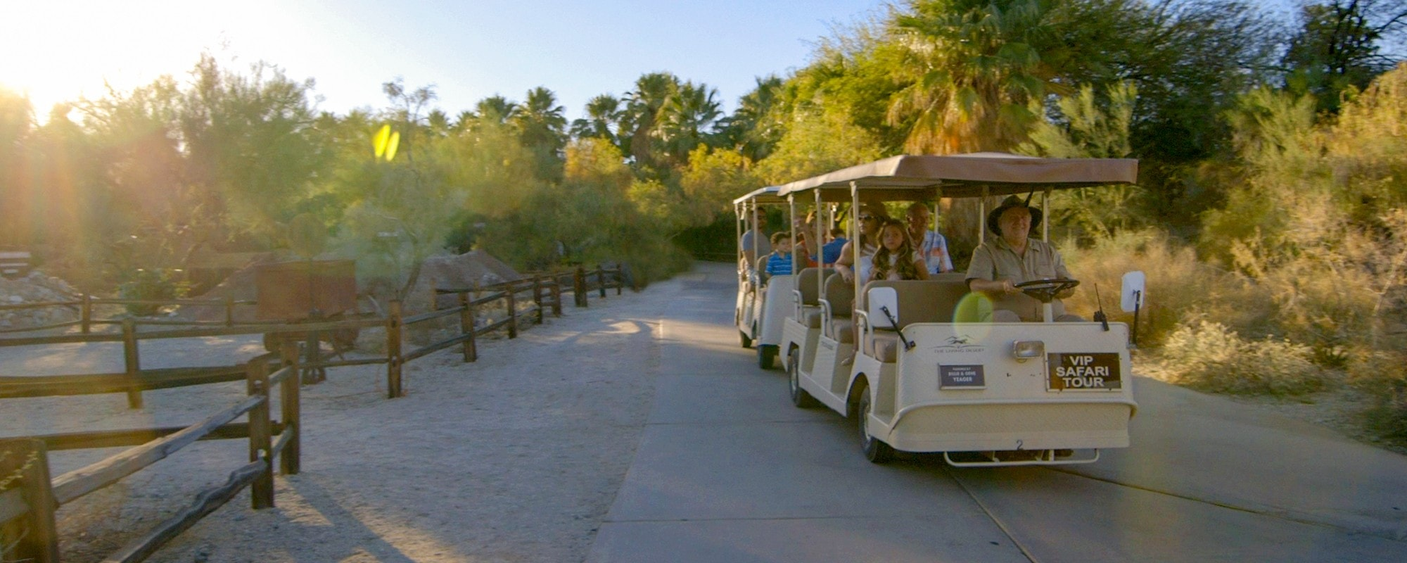 Book a private safari tour at The Living Desert Zoo and Gardens.