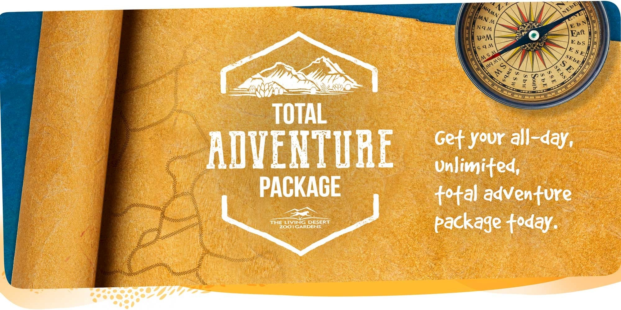 Total Adventure Package. Get your all-day, unlimited, total adventure package today. Click for more information.