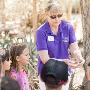 Become a volunteer of The Living Desert Zoo and Gardens. Click for details.