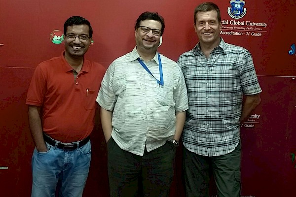 Photo of Dr. James and Dr. Amit Lahiri.
