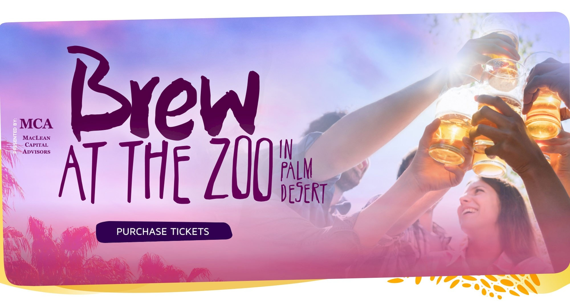 Brew at the Zoo - Saving Wildlife One Beer at a Time. Saturday, February 9 | 6-9:30pm. Click for more information.