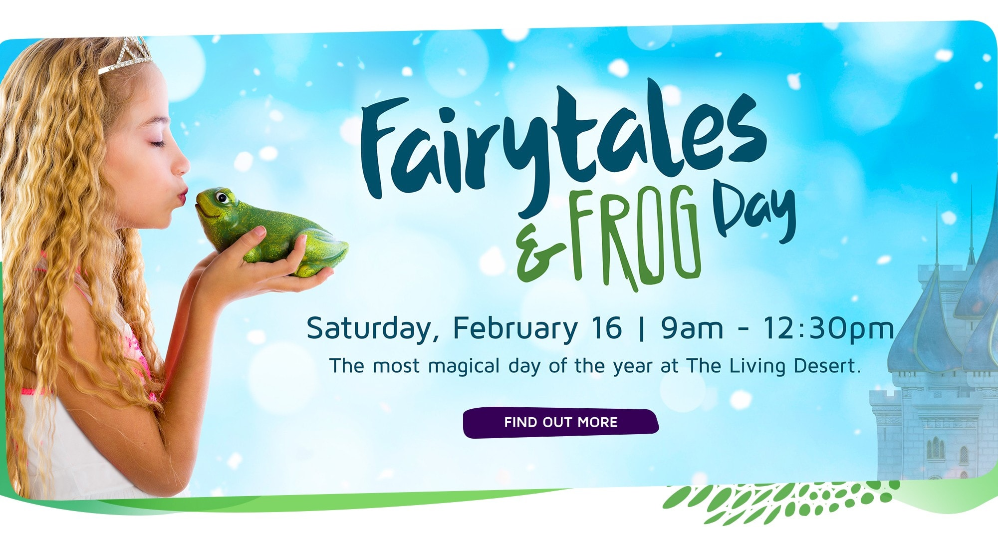 Fairytales and Frog Day at The Living Desert Zoo and Gardens