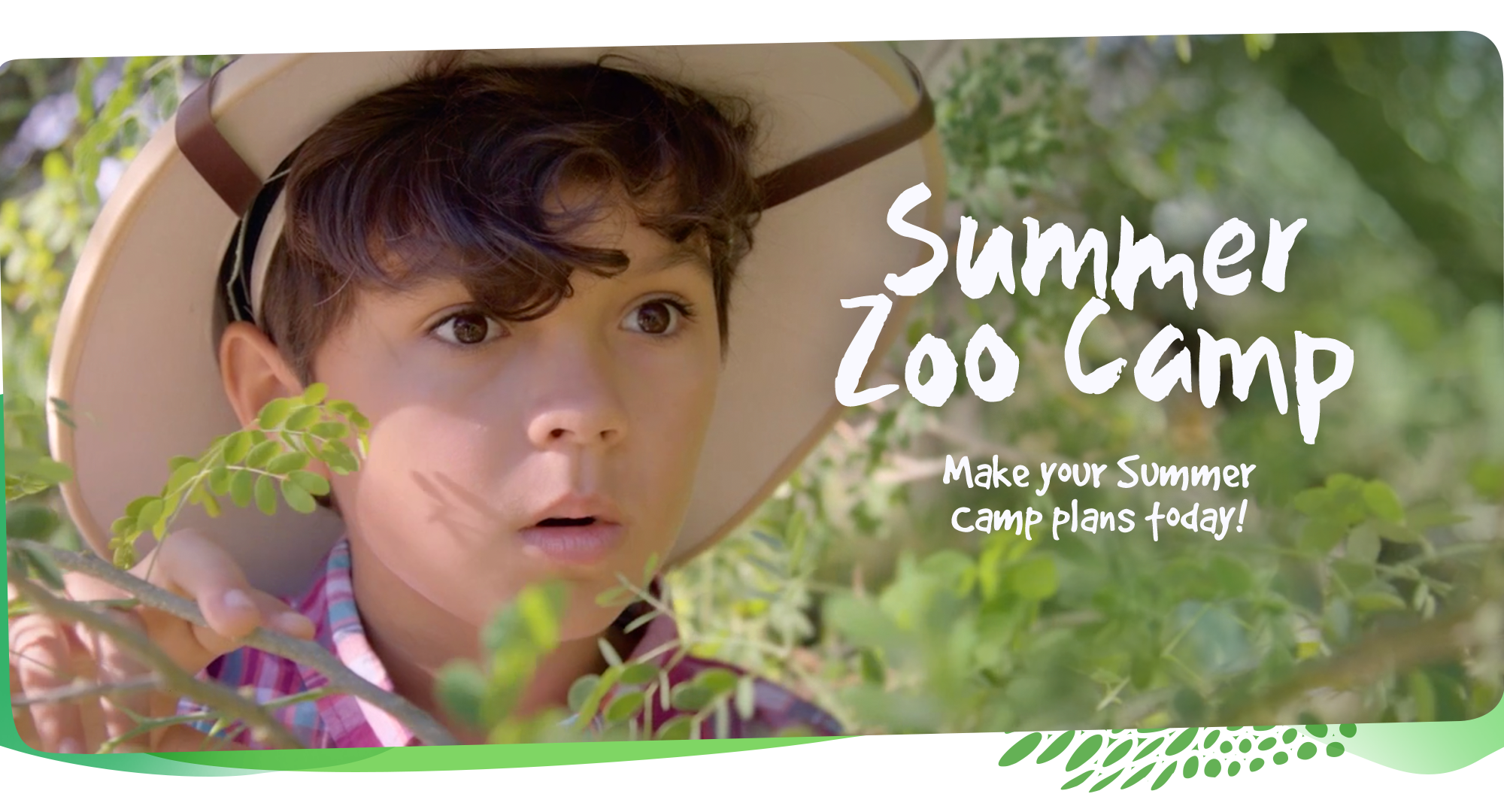 Summer Zoo Camp. Make your summer camp plans today. Click for more information.