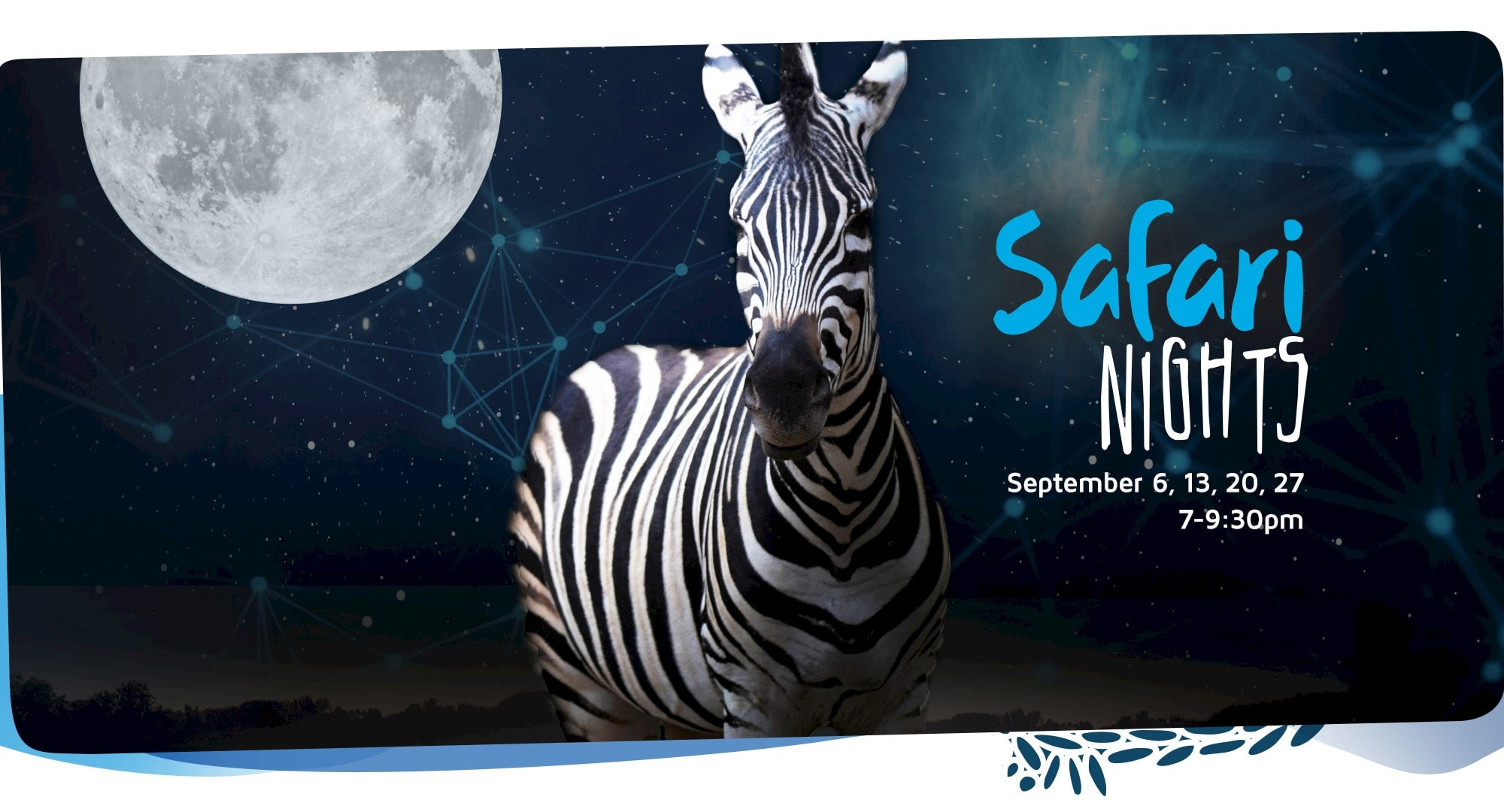 Every Friday night in September brings safari family fun. Click for more information.