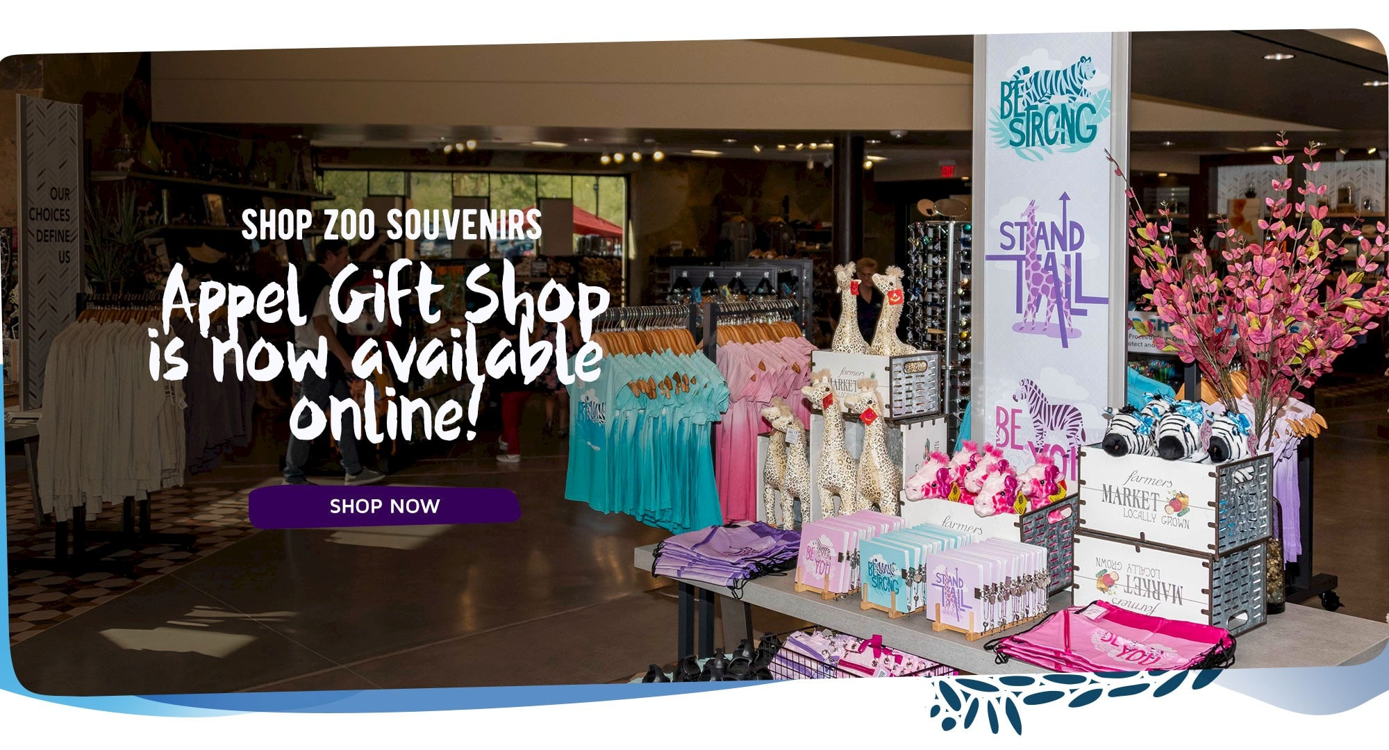 The Living Desert's gift shop is now online! Click to start shopping now.