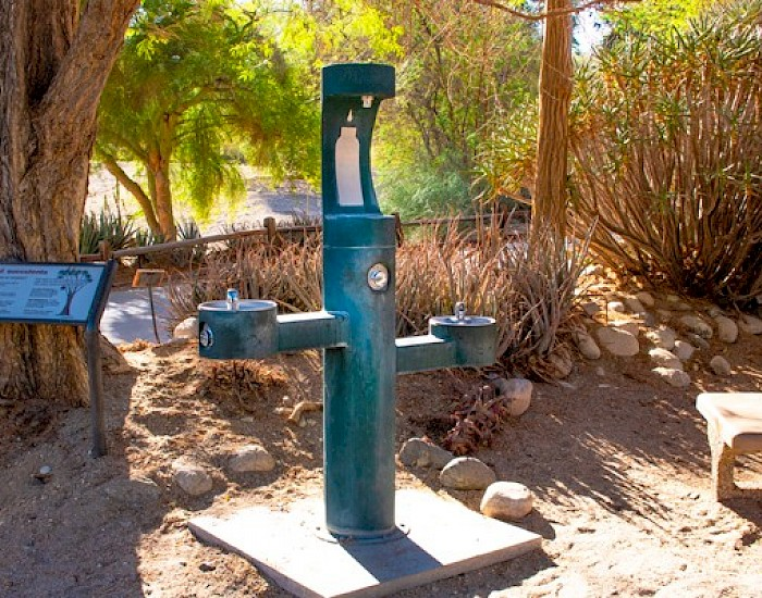 Water Station at The Living Desert